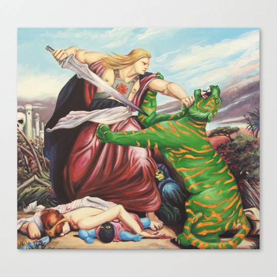 By The Power of Retribution Canvas Print