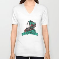 gypsy V-neck T-shirts featuring Gypsy by Rizsoo