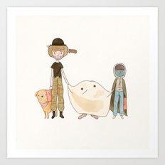 E.T Art Print