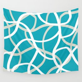 ABSTRACT LINES 001 Wall Tapestry