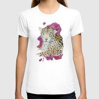 jaguar T-shirts featuring Jaguar by Kyra Kalageorgi