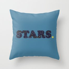 STARS. Throw Pillow