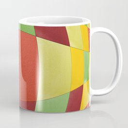 Tropical fruit warp Coffee Mug