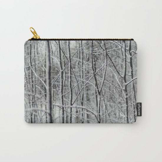 Frosted Forest Carry-All Pouch