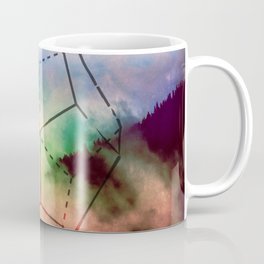 The Elements Geometric Nature Element of Spirit Coffee Mug