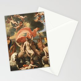 The Birth of Venus by Nicolas Poussin (1635) Stationery Cards