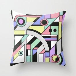 De Stijl Abstract Geometric Artwork Throw Pillow