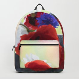 Poppies Symphonies Backpack