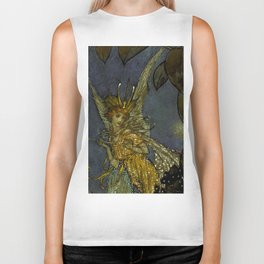 """The Fairy Queen"" Fairy Tale Art by Edmund Dulac Biker Tank"