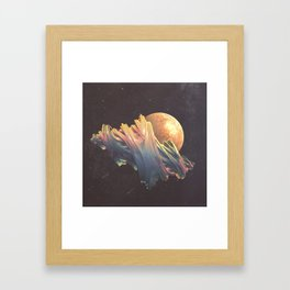 "Glitch art, ""Dragon Egg"" 2014 Framed Art Print"
