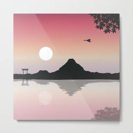 Fuji Mountain Metal Print