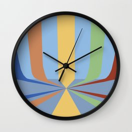 The Rainbow Room Wall Clock