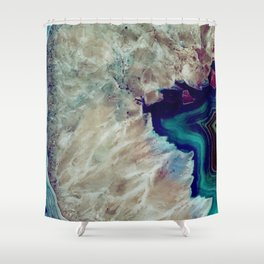 Agate Shower Curtain