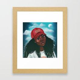 Triste Framed Art Print