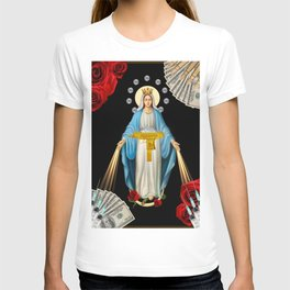 DOPE & DIAMONDS (religion is the opium of the people). T-shirt