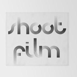 Shoot Film Throw Blanket