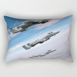 BEAUTIFUL AIRPLANE FORMATION Rectangular Pillow