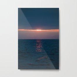 Sunrise over the Golden Coast Metal Print