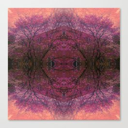 Rose Glass Canvas Print