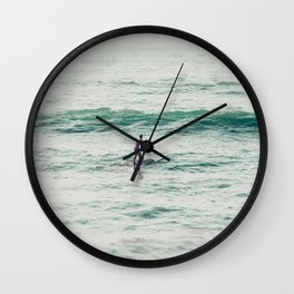 Wide Open Space San Diego Wall Clock