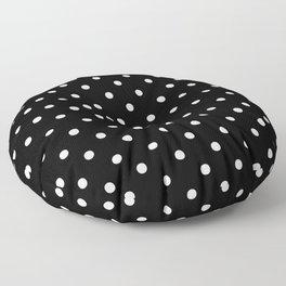 DOTS (WHITE & BLACK) Floor Pillow