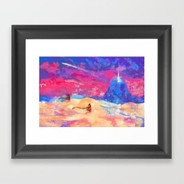 journey - apotheosis Framed Art Print