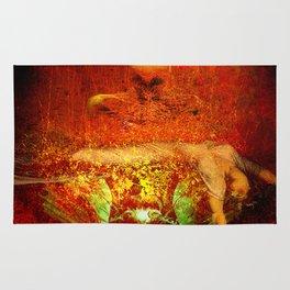 Demonic sacrifice Rug