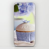 cupcake iPhone & iPod Skins featuring CUPCAKE by Ylenia Pizzetti