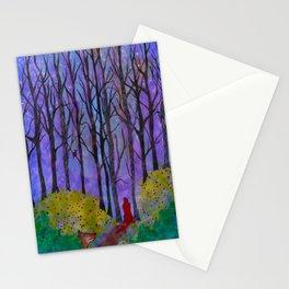 Night Stroll Stationery Cards