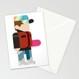 Marty Deconstructed Stationery Cards
