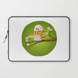 Spring Owl Laptop Sleeve
