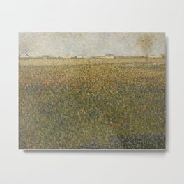 Georges Seurat - La Lucerne Metal Print