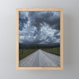 Road Less Traveled Framed Mini Art Print