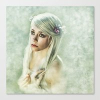 dreamer Canvas Prints featuring Dreamer by Spoken in Red