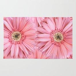 Pink Gerber Pattern | Flowers | Spring | Pop-art Rug