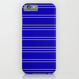Simple Lines Pattern by iPhone Case