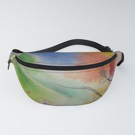 Watercolor Rhapsody Fanny Pack