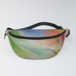 Watercolor Rhapsody Fanny Pack