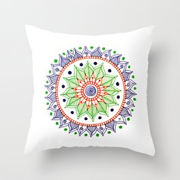 Mandala Creation #3 Throw Pillow
