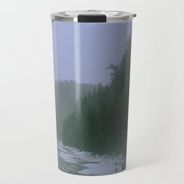 Gloomy river Travel Mug