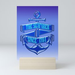 The Seafarer Mini Art Print