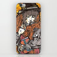 wasted rita iPhone & iPod Skins featuring Rita by Freja Friborg