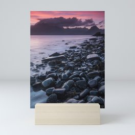 Sunset at Elgol II Mini Art Print