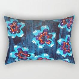Santa Fe Rose Rectangular Pillow