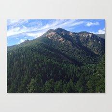 Cheyenne Canyon Canvas Print