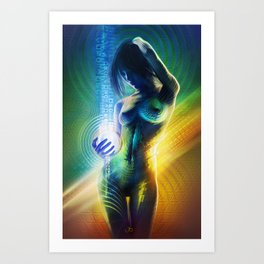 Prismatic Singularity Art Print