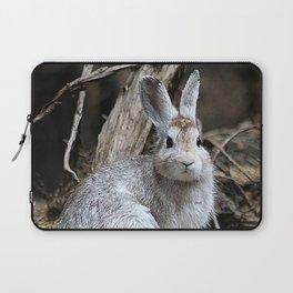 Snowshoe Hare Rabbit Laptop Sleeve
