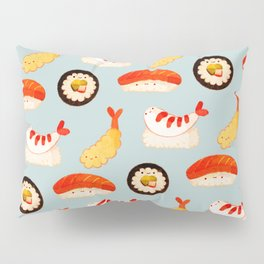 Sushi Time (fade) Pillow Sham