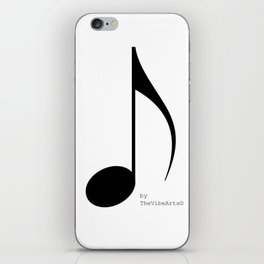 TheVibeArts music is life iPhone Skin