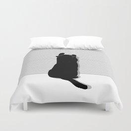 Cat Scratch Duvet Cover